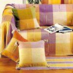 современный чехол на диван