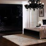спальня, комплект черный