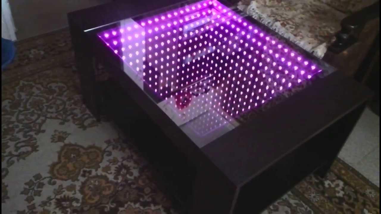 Кубик зеркальной бесконечности своими руками