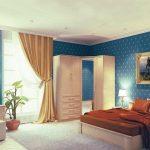 юлианна кровать в спальне