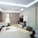 белая мебель как успокаивающий элемент