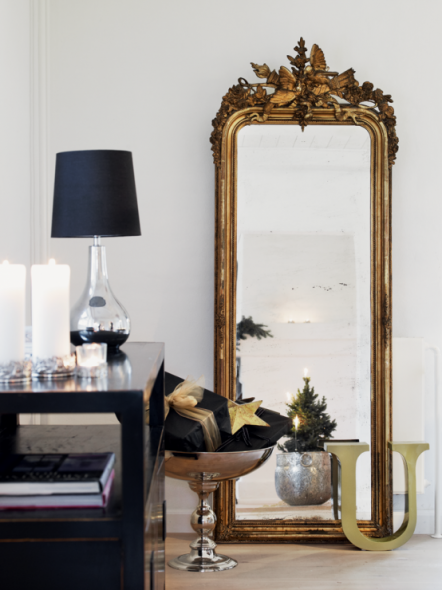 Большое зеркало в спальню