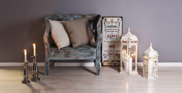 Декупаж мебели романтика
