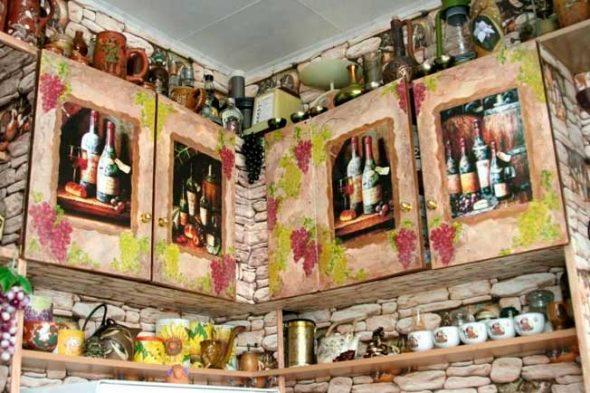 Декупаж мебели в стиле прованс может стать не только прекрасным хобби
