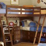 деревянная кровать для детей