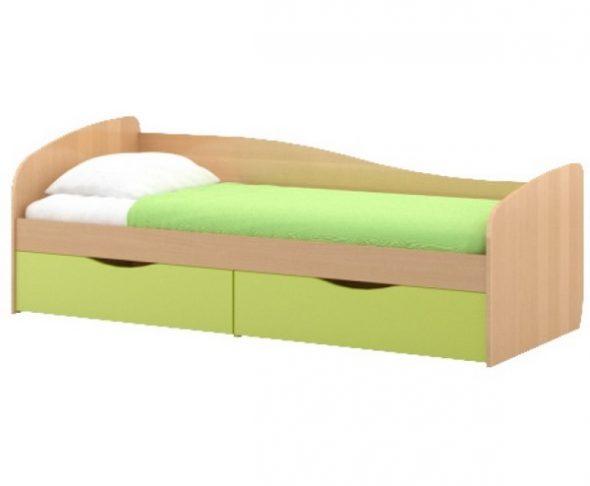 Детская кровать от 3 лет Пионер