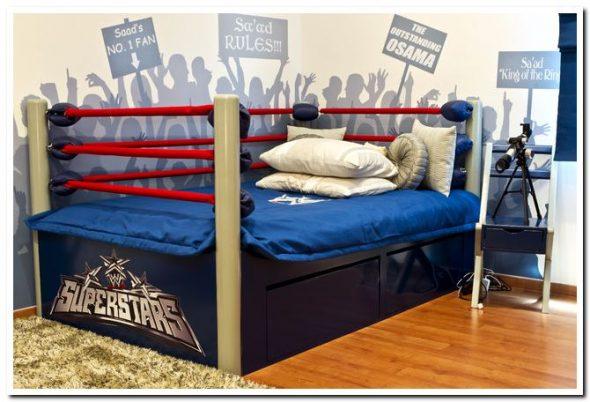Детская кровать ринг для мальчика