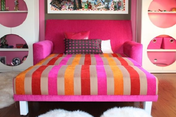 кровать диван дельфин