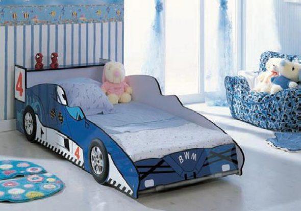 Детские кровати — машины
