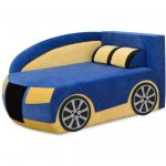 Детский мягкий диван-кровать Ауди