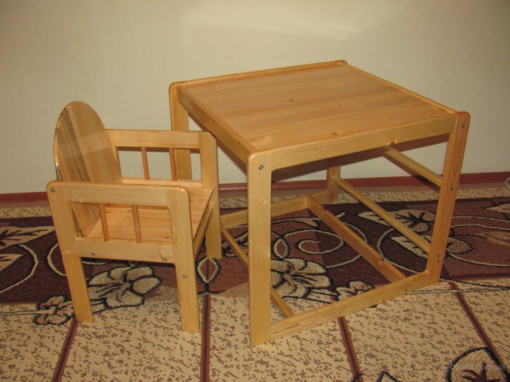 Столики и стульчики своими руками