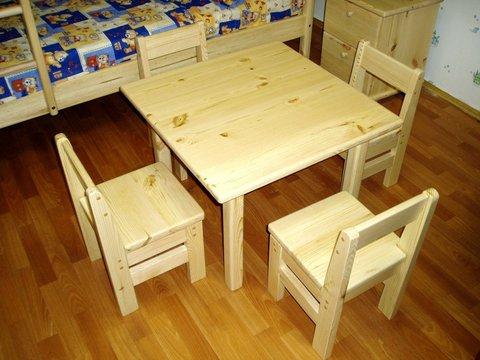 Как своими руками сделать детский стульчик и столик своими руками