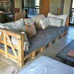 Диван и кровать из поддонов