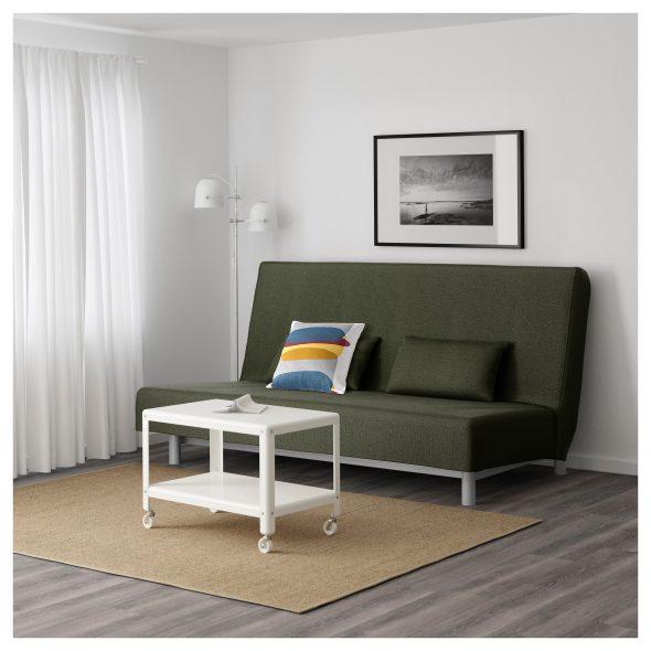 Диван-кровать 3-местный БЕДИНГЕ МУРБО зеленый