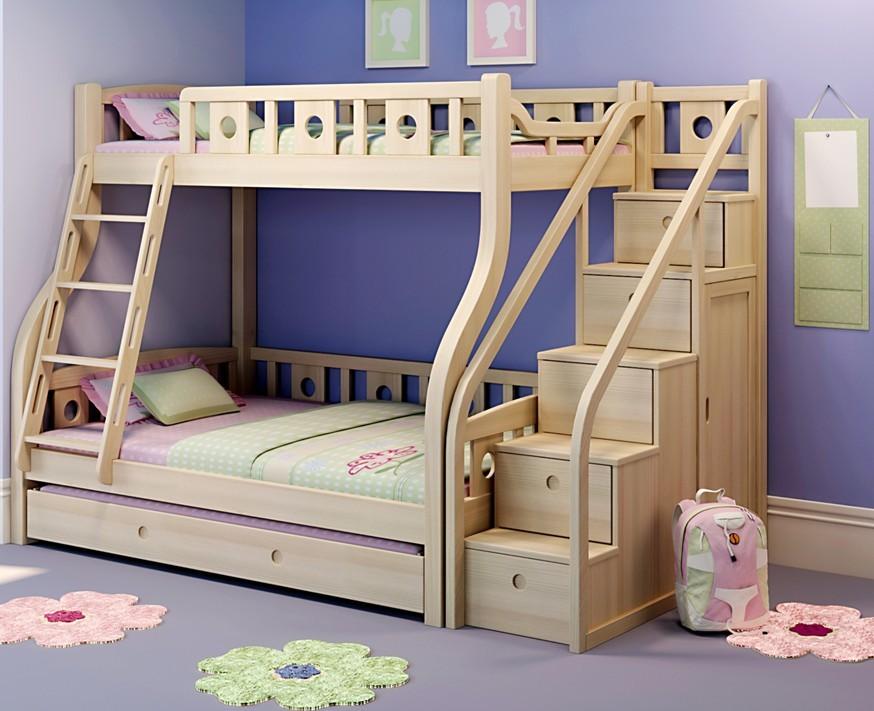 Детские двухярусная кровати своими руками