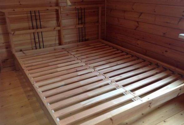 Двуспальная Кровать Икеа основа