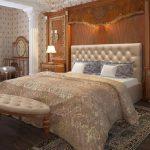 Двуспальная кровать Мебель-Сервис Рада