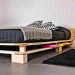 кровать из паллетов сделать самим
