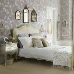 светлая спальня изящный интерьер
