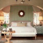 светлая спальня классический стиль
