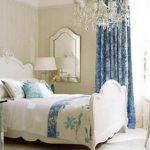 светлая спальня белая мебель