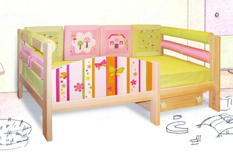 Кроватка для ребенка от 2 лет своими руками 33