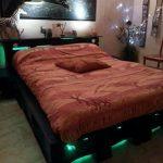 кровать из паллетов для подростка