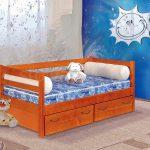 кровать детская массив сосны