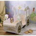 детская кровать с бортиками карета