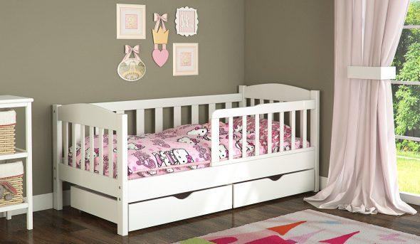 Односпальная детская кровать Ассоль