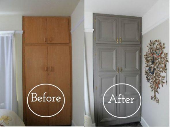 Реставрация старый шкаф своими руками фото 711