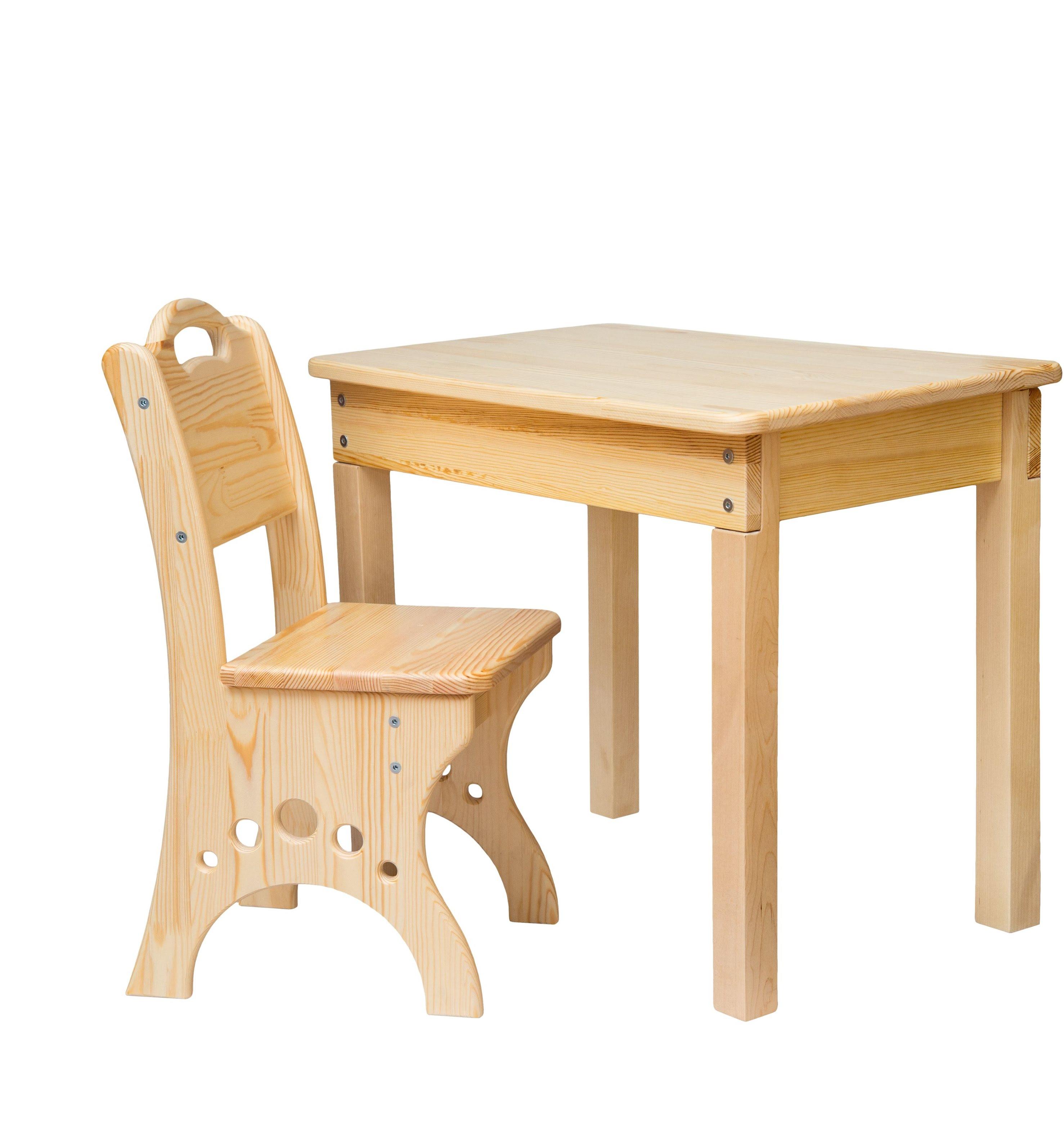 Детские столики и стульчики из дерева своими руками