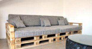Самодельные диваны из поддонов