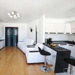 белая мебель модульная стенка