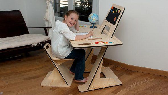 стол трансформер детский