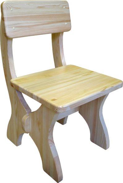 Стул детский деревянный фото