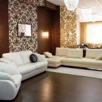 белая мебель с другими оттенками
