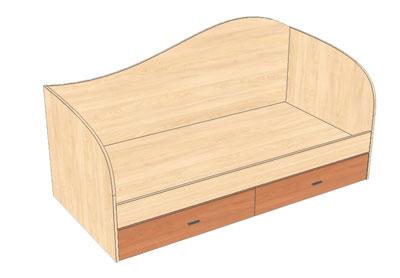 Такая модель кровати у нас пользуется спросом