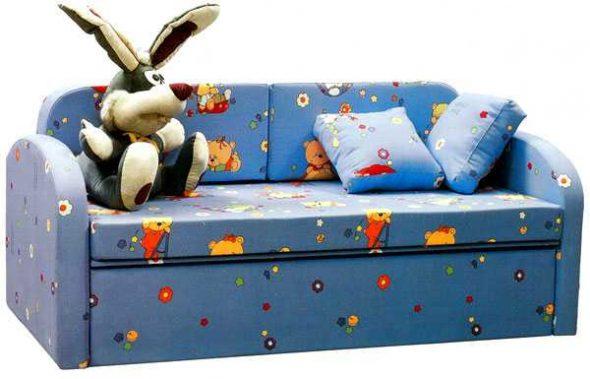 Удобный детский диван-кровать