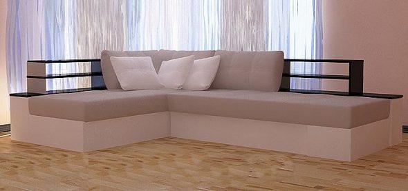 Угловой диван поворотный Мемфис