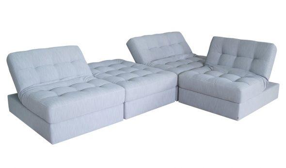 Угловой диван-трансформер Пазл