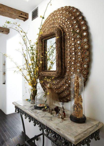 зеркало с необычной рамой