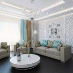 белая мебель с другими цветами