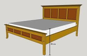 Высота кровати с матрасом
