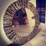 Зеркало в мозаичном дизайне