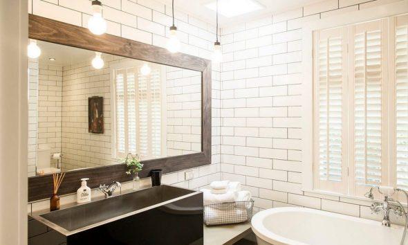 зеркало в ванной дизайн