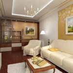 белая мебель с жемчужными оттенками
