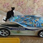 бельмарко кровать с котиком