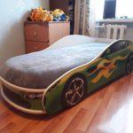 бельмарко кровать с матрасом