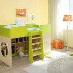 детская кровать с бортиками конструкция